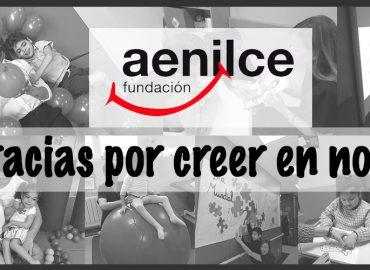 LA CAUSA DEL MES DE ENERO: FUNDACIÓN @aenilce